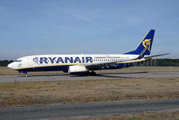 Ryanair Boeing 737-8AS WL EI-DLB (msn 33584) (Comunitat Valenciana) NTE (Paul Bannwarth). Image: 922260.