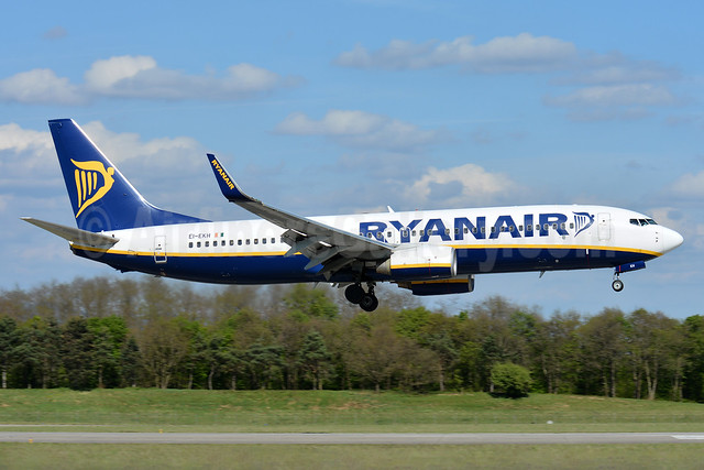 Ryanair Boeing 737-8AS WL EI-EKH (msn 38493) BSL (Paul Bannwarth). Image: 938344.