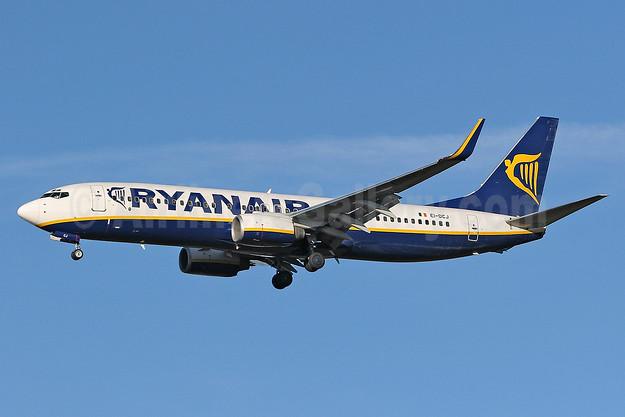Ryanair Boeing 737-8AS WL EI-DCJ (msn 33564) STN (Keith Burton). Image: 900707.