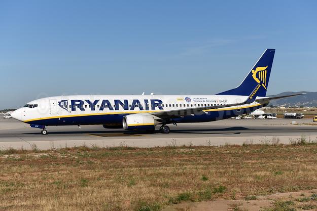Ryanair Boeing 737-8AS WL EI-EXF (msn 40322) (Costa Brava - Pirineau de Girona) PMI (Ton Jochems). Image: 943422.