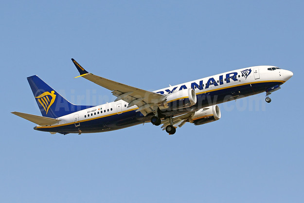 Ryanair Boeing 737-8 MAX 8 (200) EI-HGP (msn 62330) PMI (Javier Rodriguez). Image: 954443.