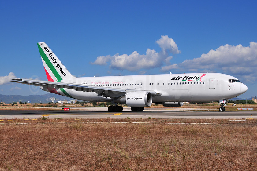 Air Italy (2nd) Boeing 767-23B ER I-AIGI (msn 23974) PMI (Ton Jochems). Image: 954035.