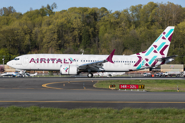 Air Italy's first Boeing 737-8 MAX 8