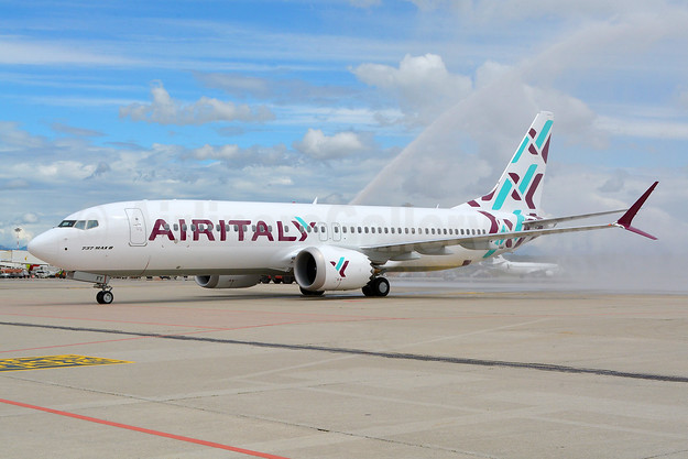 Air Italy Unveils Its First Boeing 737 8 Max 8 At Milan Malpensa World Airline News