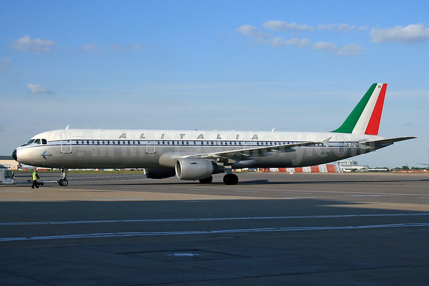 Alitalia's 1960 retrojet