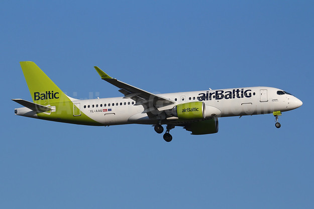 airBaltic Airbus A220-300 (Bombardier CS300 - BD-500-1A11) YL-AAU (msn 55064) FRA (Marcelo F. De Biasi). Image: 951386.