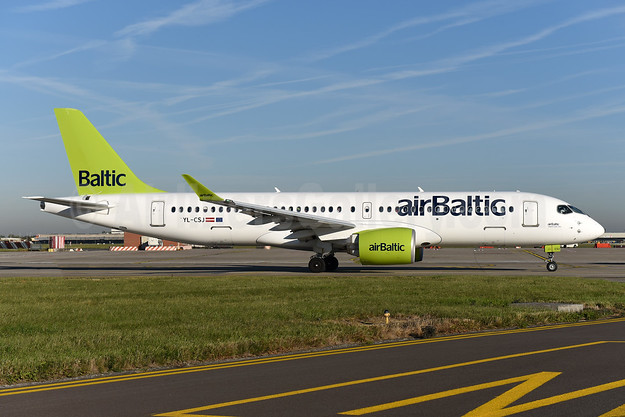 airBaltic Airbus A220-300 (Bombardier CS300 - BD-500-1A11) YL-CSJ (msn 55038) BRU (Ton Jochems). Image: 943824.