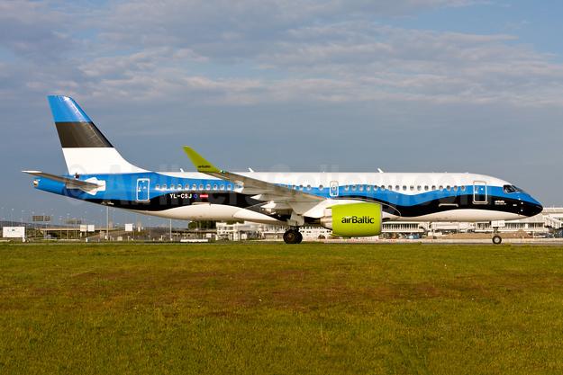 airBaltic Airbus A220-300 (Bombardier CS300 - BD-500-1A11) YL-CSJ (msn 55038) (Estonia) MUC (Gunter Mayer). Image: 954826.