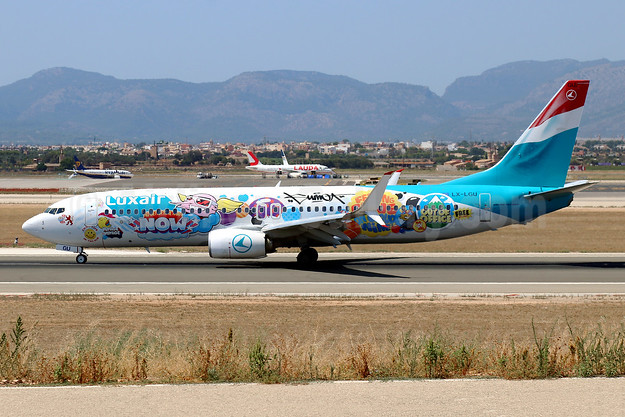 Luxair's 2020 SUMO special livery