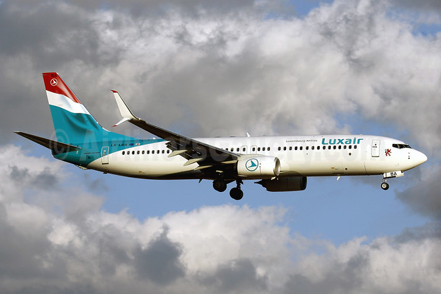 Luxair-Luxembourg Airlines Boeing 737-8C9 SSWL LX-LBA (msn 43537) PMI (Javier Rodriguez). Image: 927769.