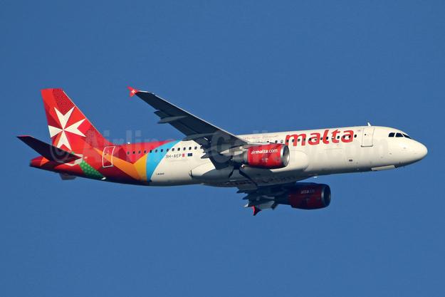 Malta - airmalta.com (Air Malta 2nd) Airbus A320-214 9H-AEP (msn 3056) LHR (SPA). Image: 946045.