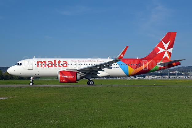 Malta - airmalta.com (Air Malta 2nd) Airbus A320-251N WL 9H-NED (msn 10106) ZRH (Rolf Wallner). Image: 953562.