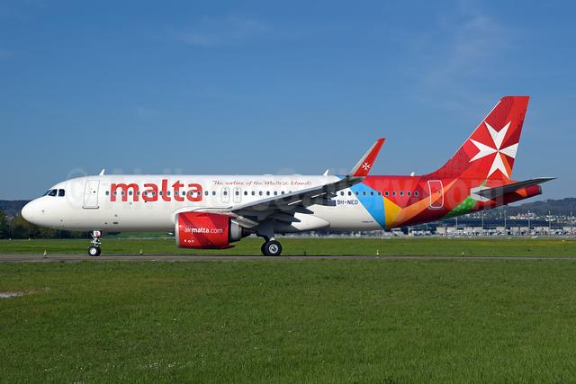 Malta - airmalta.com (Air Malta 2nd) Airbus A320-251N WL 9H-NED (msn 10106) LHR (Rolf Wallner). Image: 953562.
