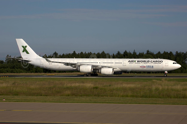 AirX World Cargo (AirX Charter) Airbus A340-642 9H-FFC (msn 431) HHN (Rainer Bexten). Image: 9546056