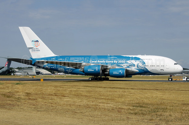 "2018 ""Coral Reefs Gone By 2050"" livery (right side)"