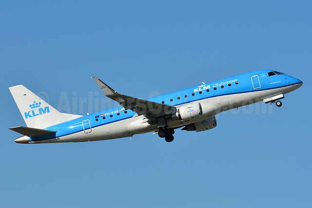 KLM Cityhopper Embraer ERJ 170-200STD (ERJ 175) PH-EXG (msn 17000546) BSL (Paul Bannwarth). Image: 938324.
