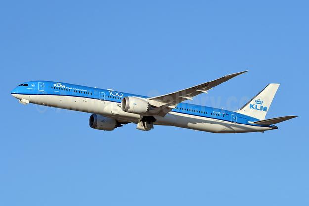 KLM Royal Dutch Airlines Boeing 787-10 Dreamliner PH-BKC (msn 42503) (100 Years) YYZ (TMK Photography). Image: 949880.