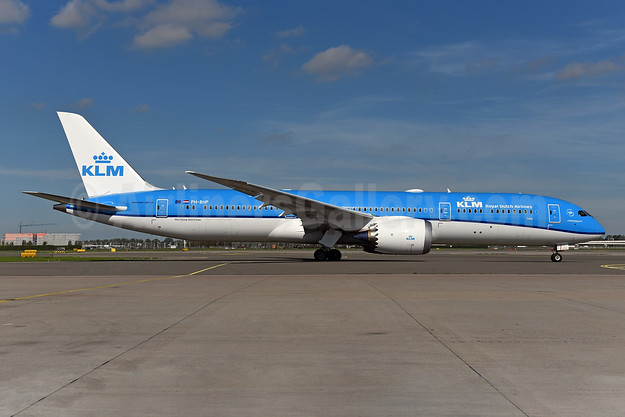 KLM Royal Dutch Airlines Boeing 787-9 Dreamliner PH-BHP (msn 42506) AMS (Ton Jochems). Image: 943792.