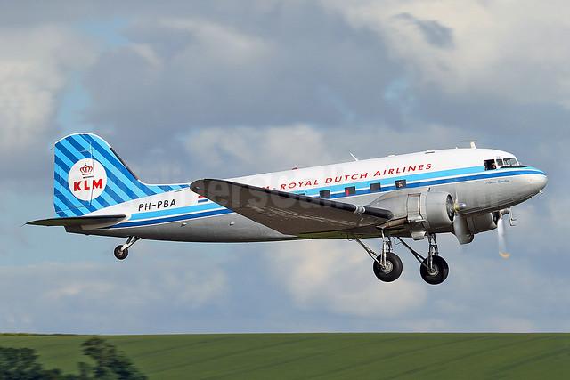 KLM Royal Dutch Airlines (Dutch Dakota Association Douglas C-47A-DK (DC-3A-456) PH-PBA (msn 19434) QFO (Keith Burton). Image: 908705.