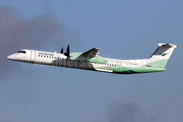 Wideroe (Widerøe's Flyveselskap AS) Bombardier DHC-8-402 (Q400) LN-WDK (msn 4337) ZRH (Andi Hiltl). Image: 944735.