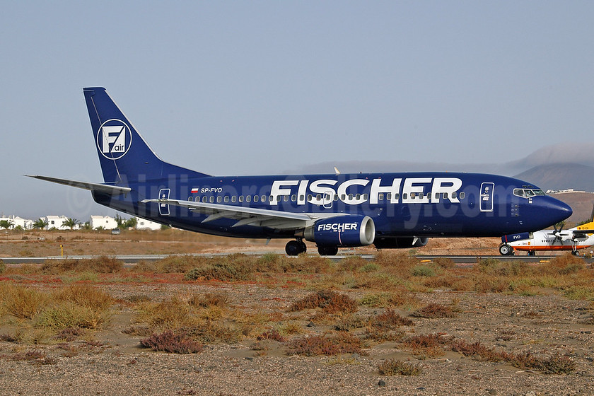 Fischer Air (Polska) Boeing 737-36N SP-FVO (OK-FIT) (msn 28590) ACE (Ton Jochems). Image: 952913.