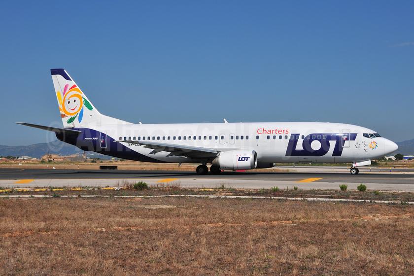 LOT Charters Boeing 737-45D SP-LLE (msn 27914) PMI (Ton Jochems). Image: 953783.