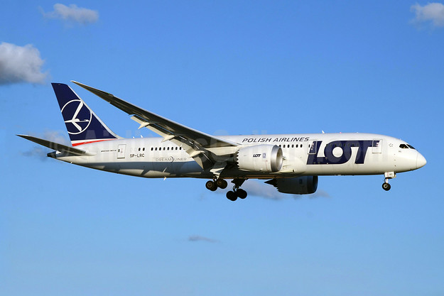 LOT Polish Airlines Boeing 787-8 Dreamliner SP-LRC (msn 35940) YYZ (TMK Photography). Image: 923866.