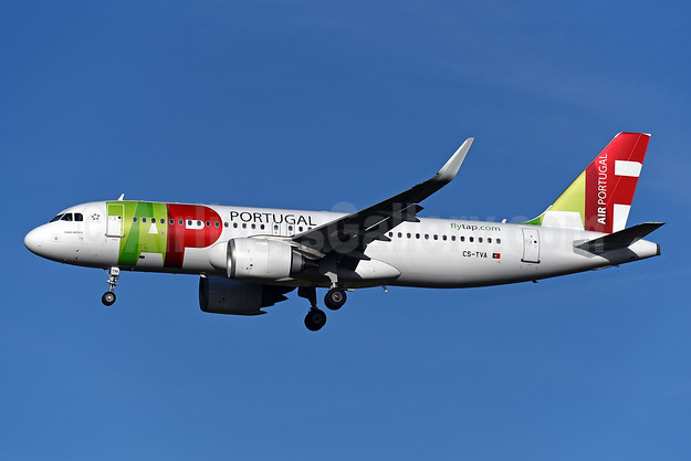 """Padre Américo"", TAP's first A320neo, delivered April 7, 2018"
