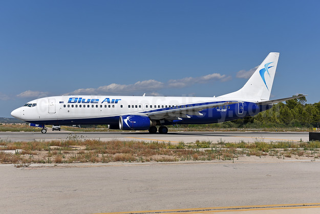 Blue Air Boeing 737-8Q8 WL YR-BMF (msn 28220) PMI (Ton Jochems). Image: 943432.