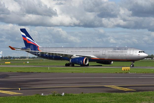 Aeroflot Russian Airlines Airbus A330-343 VQ-BPI (msn 1323) AMS (Ton Jochems). Image: 946099.