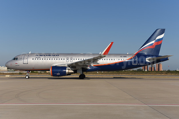 Aeroflot Russian Airlines Airbus A320-214 WL VQ-BRW (msn 5974) AYT (Ton Jochems). Image: 940530.