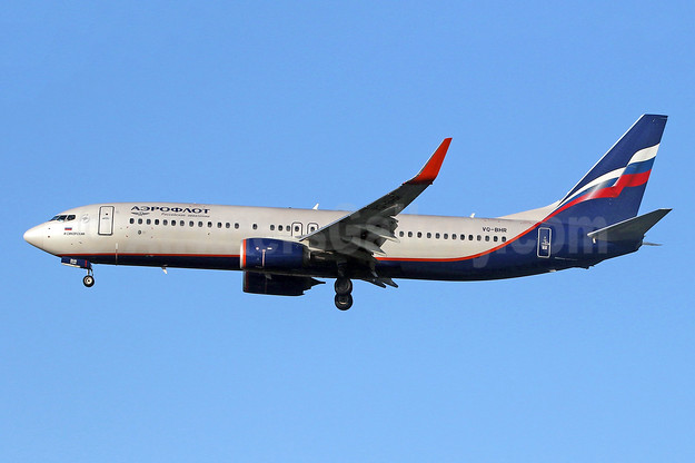 Aeroflot Russian Airlines Boeing 737-800 WL VQ-BHR (msn 41230) LHR (SPA). Image: 947987.