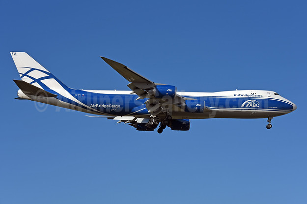 AirBridgeCargo Airlines-ABC Boeing 747-83QF VQ-BFU (msn 60117) CUR (Ton Jochems). Image: 942901.