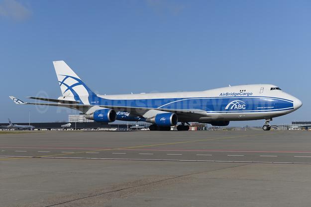 AirBridgeCargo Airlines-ABC Boeing 747-4EVF ER VQ-BUU (msn 35170) AMS (Ton Jochems). Image: 926542.