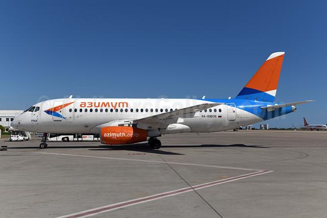 Azimuth Airlines (azimuth.aero) Sukhoi Superjet 100-95LR RA-89036 (msn 95070) AYT (Ton Jochems). Image: 954978.