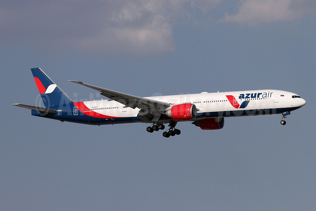 Azur Air Boeing 777-31H ER VQ-BZD (msn 32713) AYT (Andi Hiltl). Image: 946928.