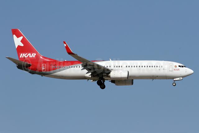 IKAR Airlines Boeing 737-83N WL VP-BPI (msn 28244) AYT (Andi Hiltl). Image: 938641.