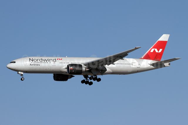 Nordwind Airlines Boeing 777-2Q8 ER VP-BJG (msn 32718) AYT (Andi Hiltl). Image: 946910.