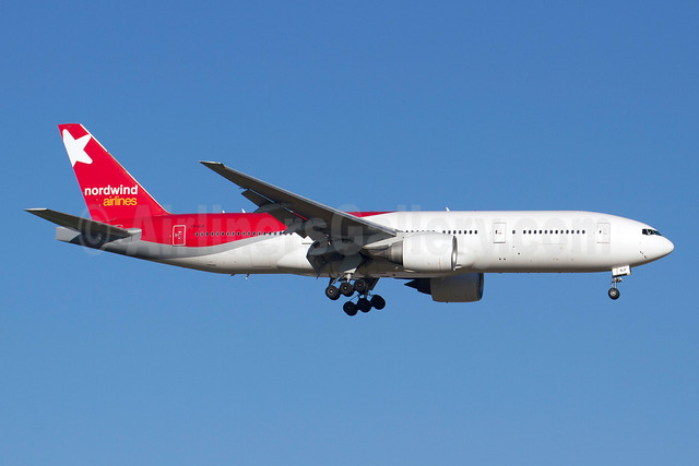 Nordwind Airlines Boeing 777-21B ER VP-BJF (msn 32703) AYT (Michael Stappen). Image: 912506.