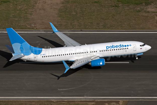 Pobeda Boeing 737-800 SSWL VP-BPL (msn 61789) CGN (Rainer Bexten). Image: 943712.