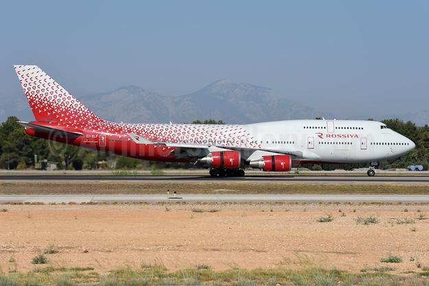 Rossiya Airlines Boeing 747-446 EI-XLF (msn 27645) AYT (Ton Jochems). Image: 943781.