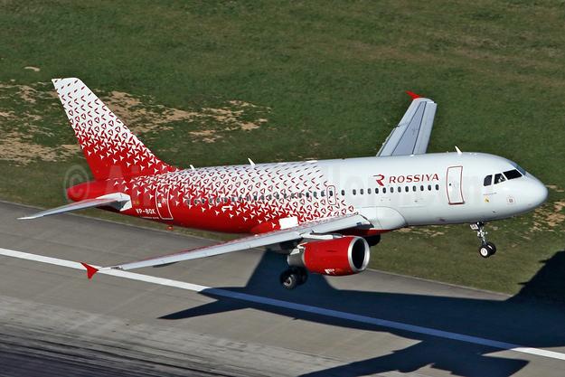 Rossiya Airlines Airbus A319-111 VP-BQK (msn 3179) DUS (Rainer Bexten). Image: 938024.