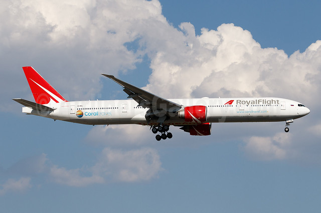 1st 777-300, ex A6-EBF, delivered May 2, 2019