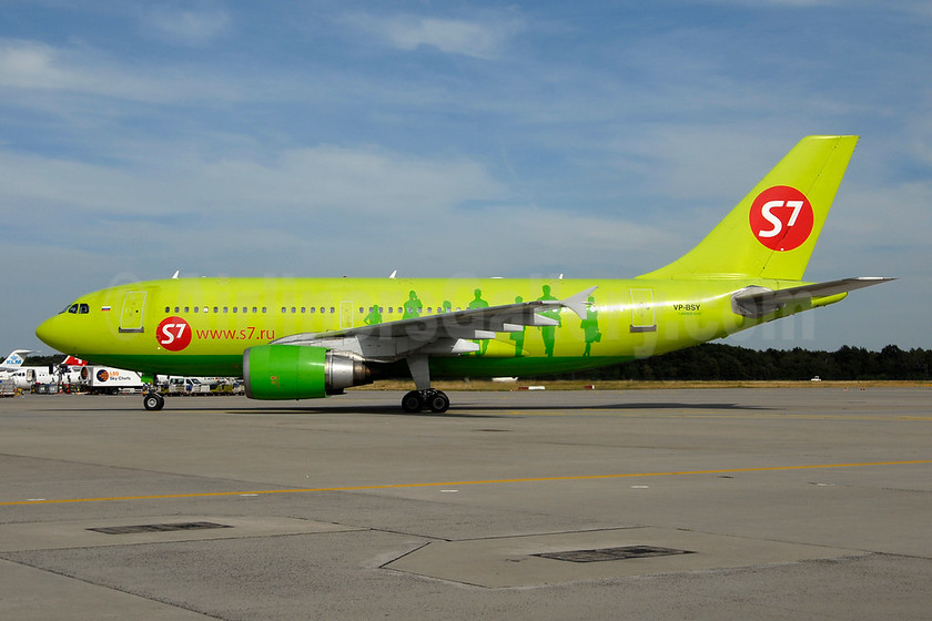 S7 Airlines (Siberia Airlines) Airbus A310-204 VP-BSY (msn 430) FRA (Ton Jochems). Image: 953498.