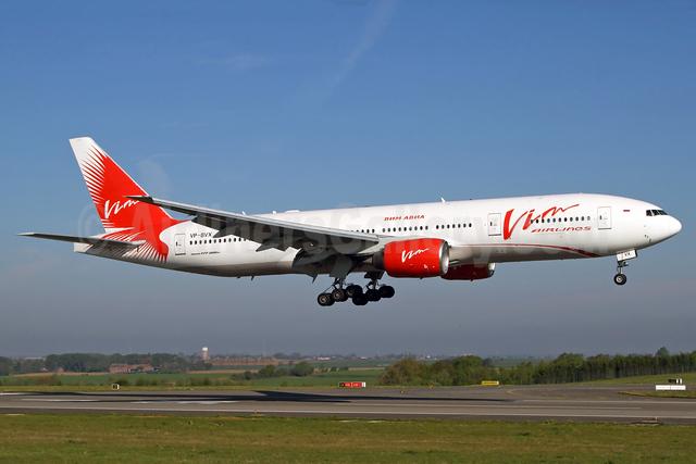 VIM Airlines (VIM Avia) Boeing 777-212 ER VP-BVX (msn 28414) LGG (Rainer Bexten). Image: 937862.