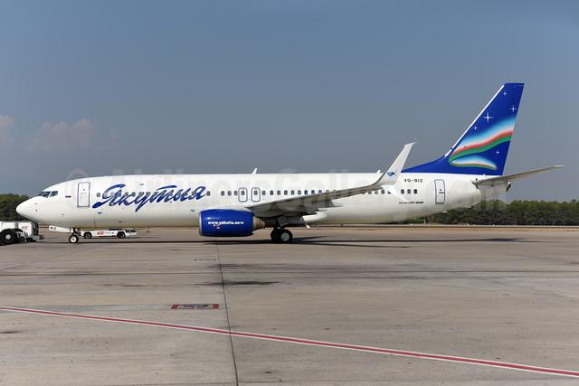 Yakutia Airlines (Yakutia Aircompany) Boeing 737-86N SSWL VQ-BIZ (msn 28645) AYT (Ton Jochems). Image: 939644.