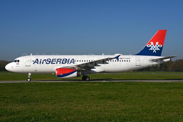 Air Serbia Airbus A320-232 YU-APH (msn 2645) ZRH (Rolf Wallner). Image: 937500.