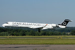 Adria Airways Bombardier CRJ900 (CL-600-2D24) S5-AAV (msn 15284) (Star Alliance) ZRH (Andi Hiltl). Image: 937978.