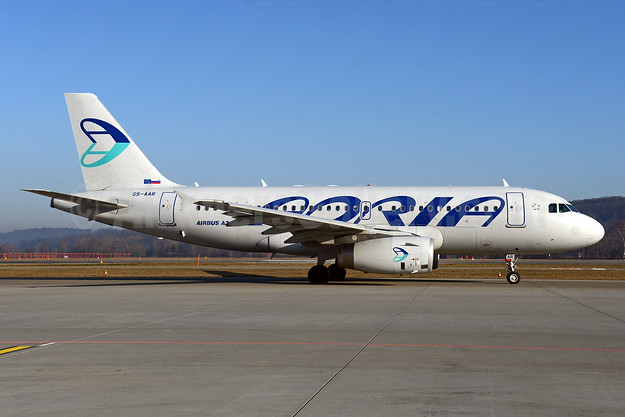 Adria Airways Airbus A319-132 S5-AAR (msn 4301) ZRH (Rolf Wallner). Image: 912192.