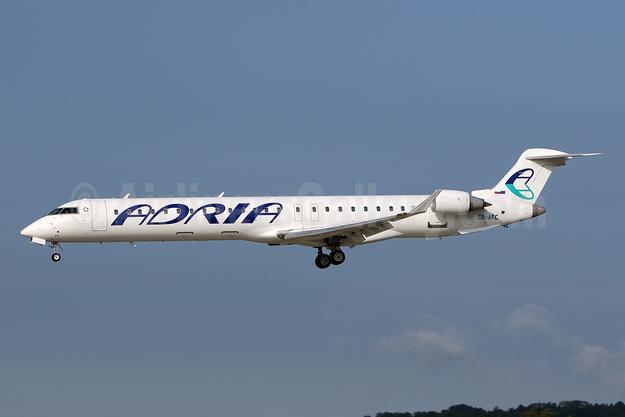 Adria Airways Bombardier CRJ900 (CL-600-2D24) S5-AFC (msn 15090) ZRH (Andi Hiltl). Image: 942260.
